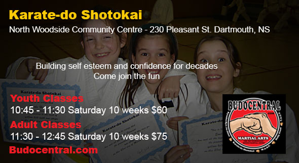 Come join the fun and get fit with karate-do Shotokai